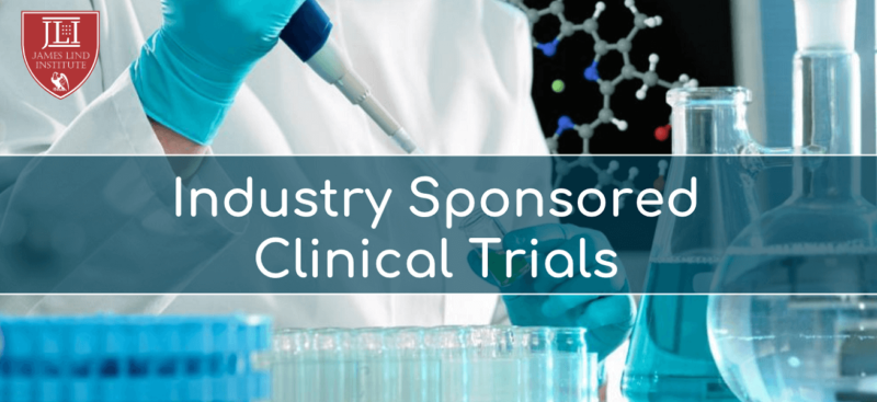 Industry sponsored clinical trials
