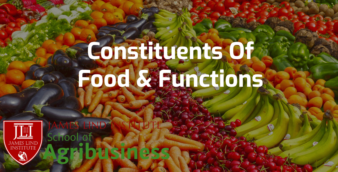 Constituents of Food and Functions