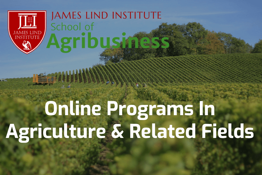Online Programs in Agriculture