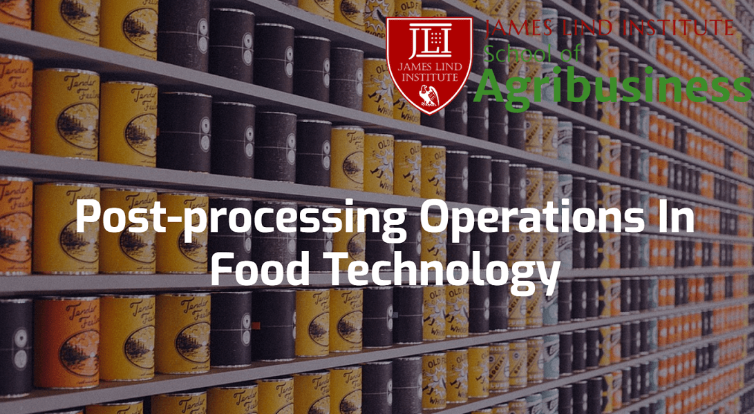 Food Processing Operations Food Technology